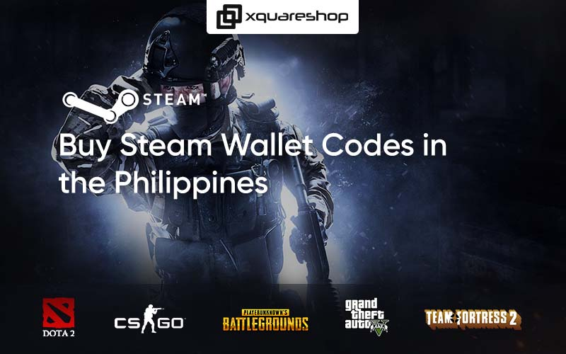 How to Buy Steam Wallet Codes in the Philippines