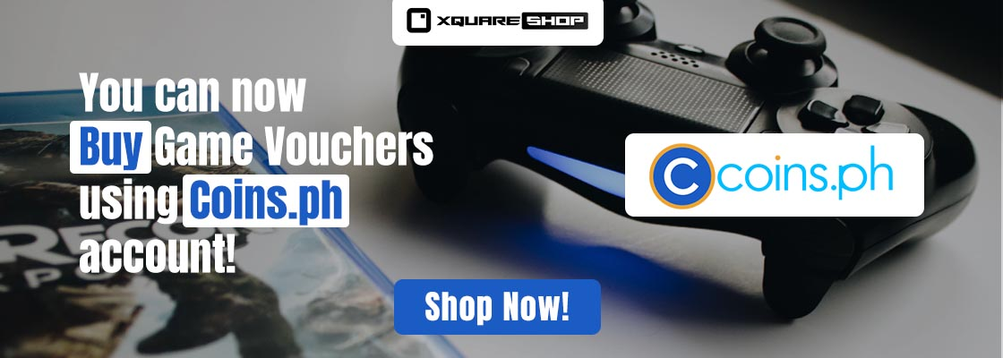 Buy game vouchers using Coins.ph