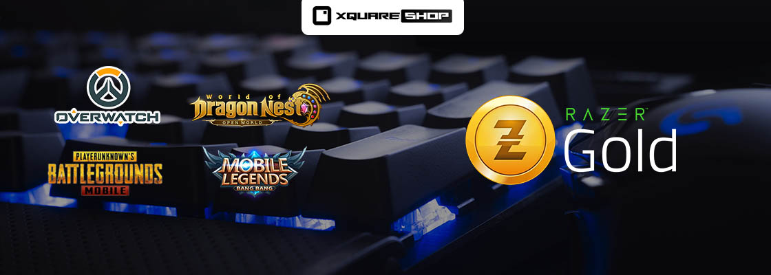 Razer Gold is available at XquareShop now, buy wit
